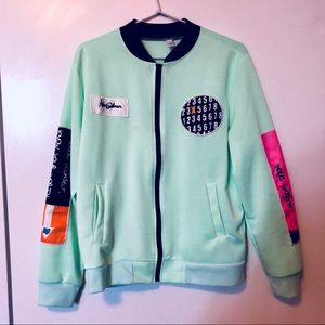 Jackets & Blazers - Green Patch Jacket (Vintage Inspired) (Brand New)